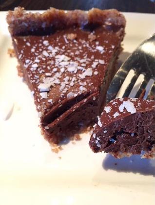 Gather Kitchen Chocolate Date Pie